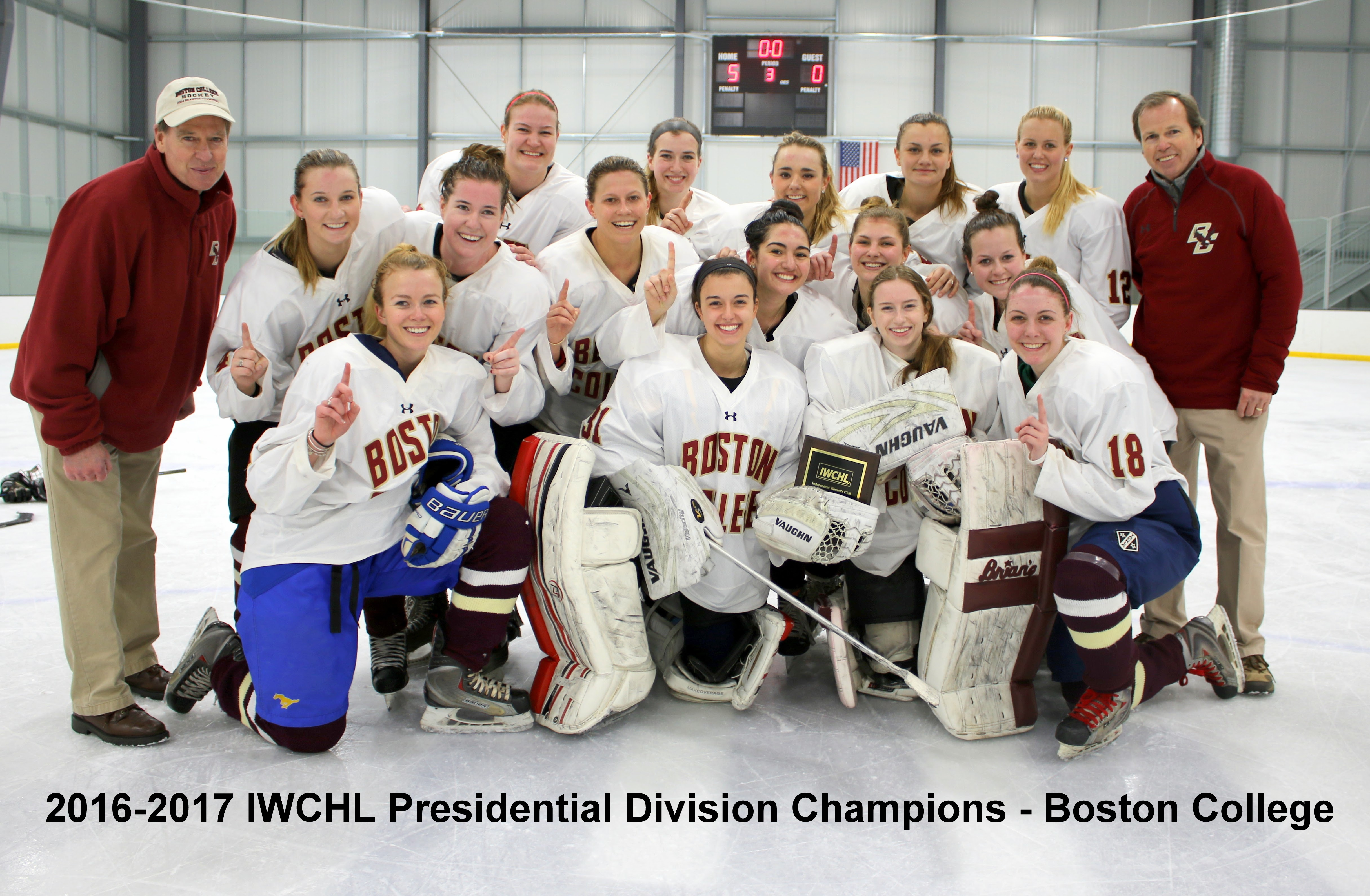0407405f719 BC Women's Club Ice Hockey Wins 2017 IWCHL Conference Championship ...